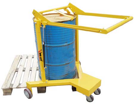 直角支腿油桶车 dj365a-油桶搬运车-武汉诺力叉车